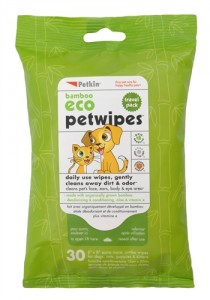 Bamboo Eco Pet Wipes Travel Pack