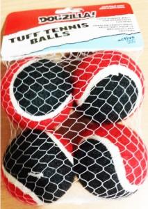 Dogzilla Tuff Tennis Ball